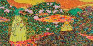 Méditation aux Buttes-Chaumont - 1999