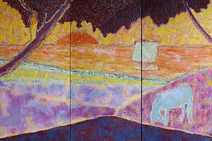 Amour, espoir et réalité (Triptyque - Commande) - 2012 -