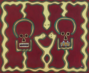 Tsikifo, l'indiscret et le misogyne. Exposition Madagascar (contes) - 2000 -