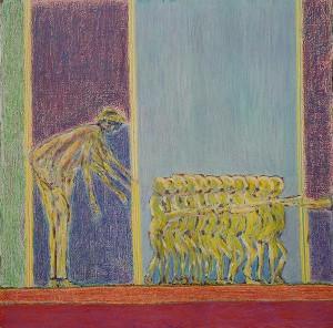"""La première marche.  Exposition """"La marche"""" - 2011 -"""