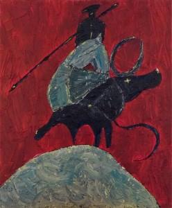 Le picador le cheval et le taureau 1 - 2009 -